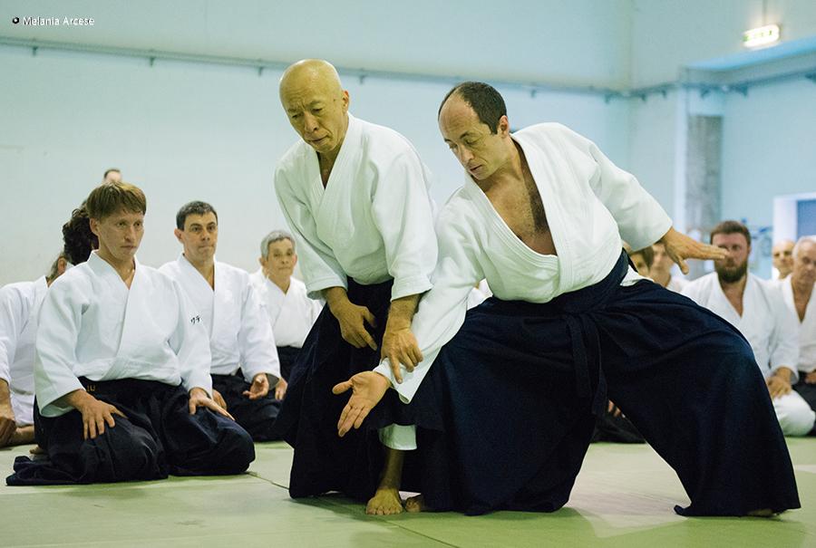 esibizione internazionale di aikido