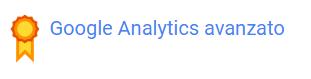 google analytics avanzato certificazione melania arcese