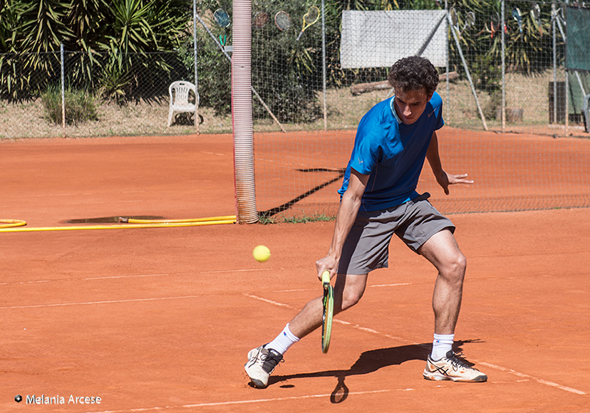 tennis racchetta pallina