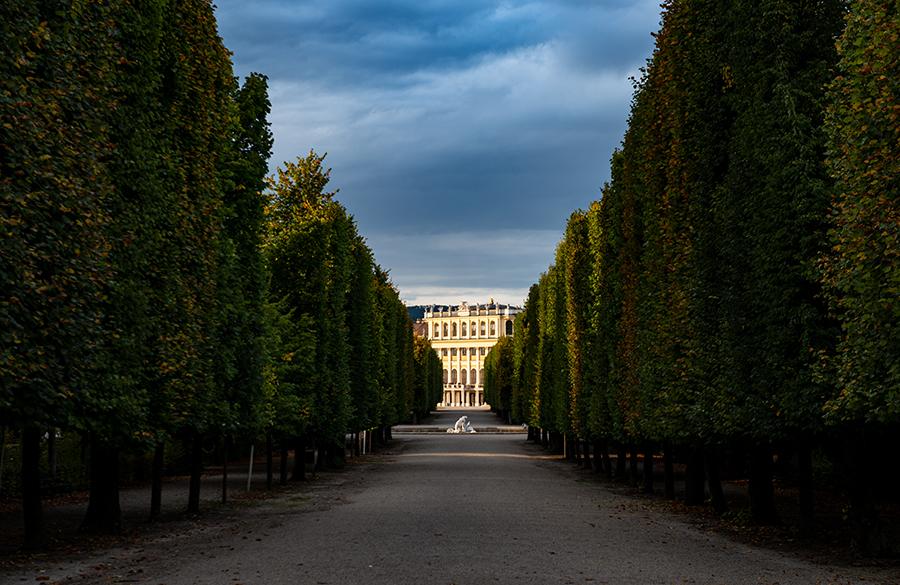 Veduta dello Schonbrunn