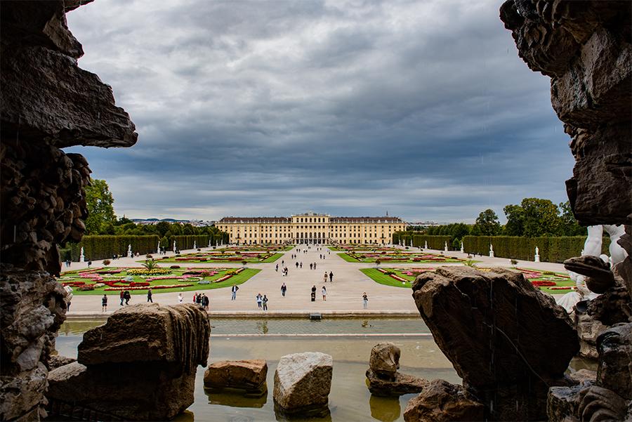 Schonbrunn veduta