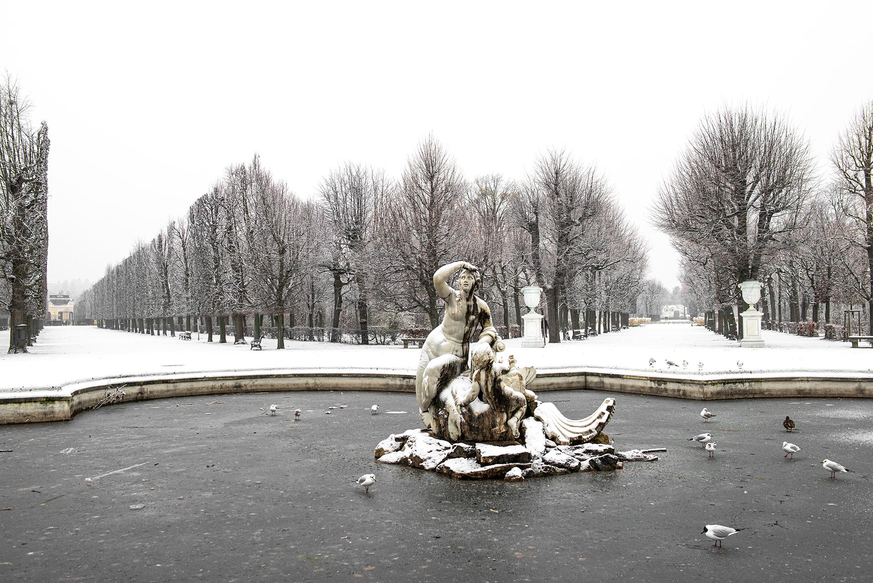 Statua allo Schönbrunn